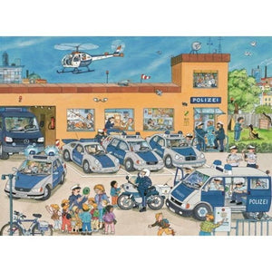 Police District Puzzle 100pc