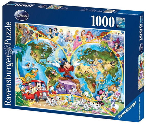 Disney's World Map Puzzle 1000pc