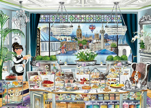 Wanderlust London Tea Party 1000pc