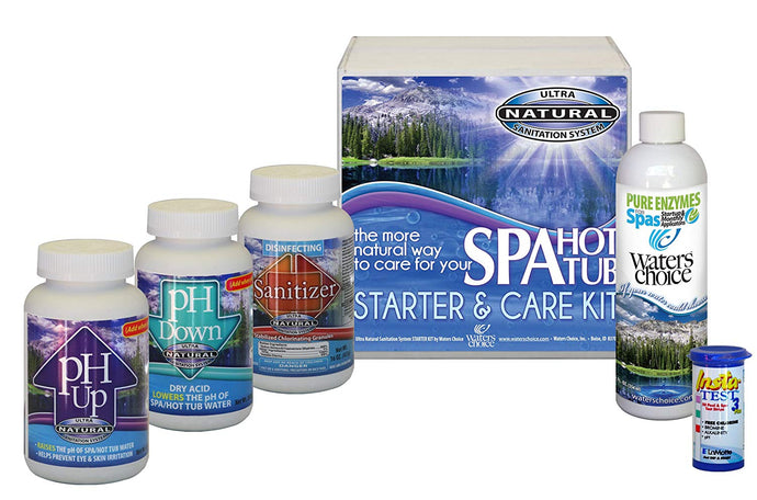 Waters Choice spa kit-1 month Supply, Free Shipping
