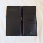 Checkbook Holder in Black