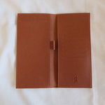 Checkbook Holder in Tan