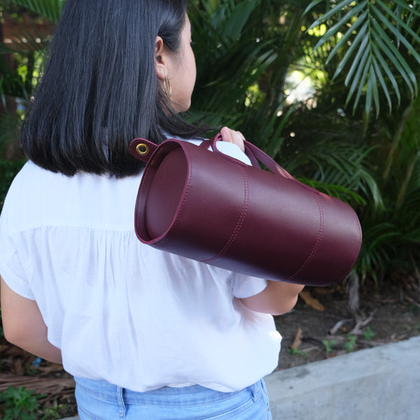 Selene Barrel Sling in Wine