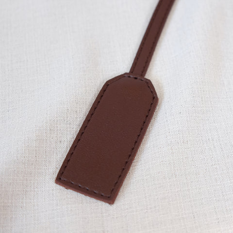 Bag Tag in Brown