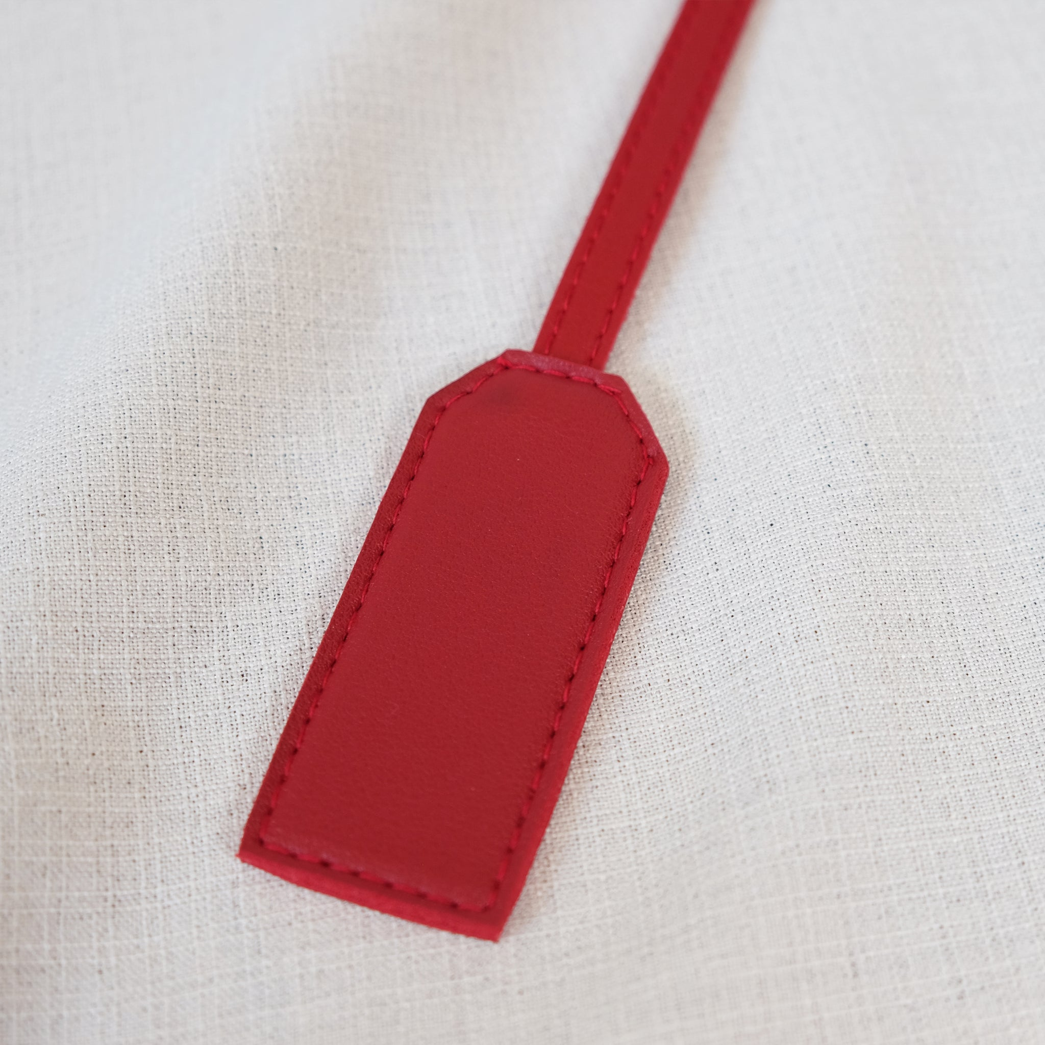 Bag Tag in Red