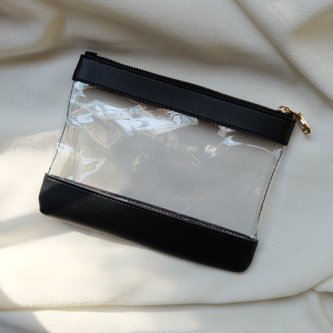 Clarity Pouch in Black
