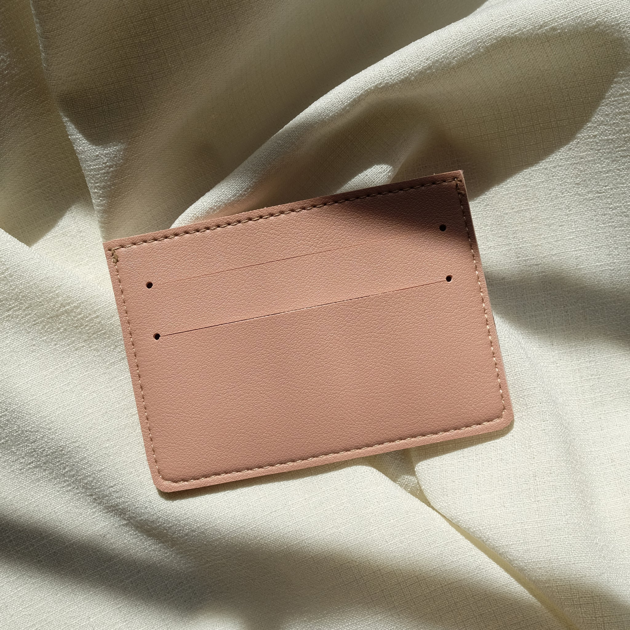Card Holder in Blush