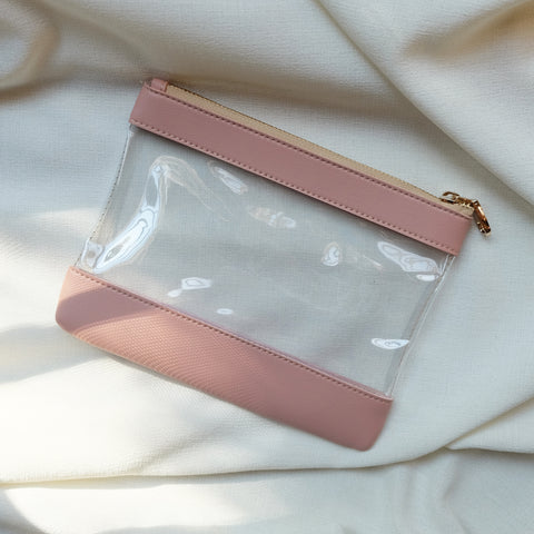 Clarity Pouch in Blush