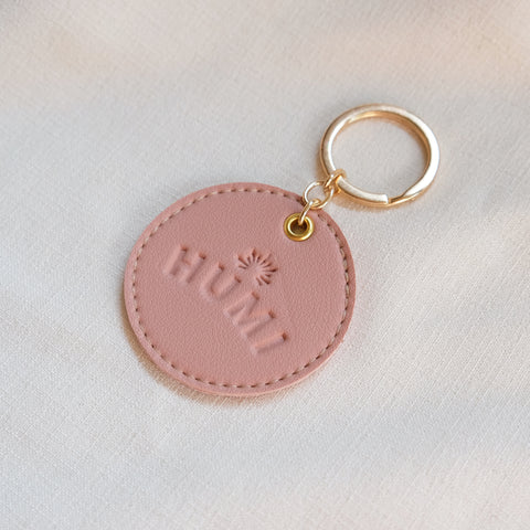 Circular Tag in Blush