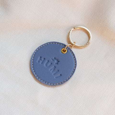 Circular Tag in Powder Blue