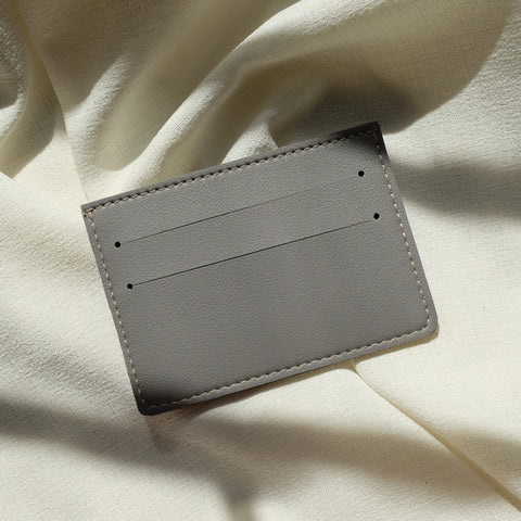 Card Holder in Gray