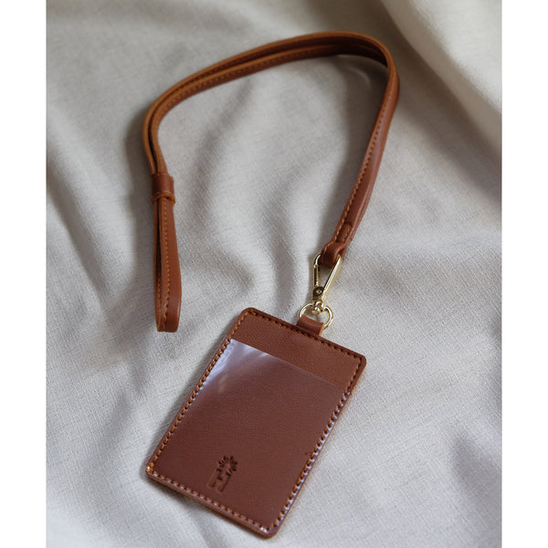 ID Lanyard in Tan