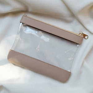 Clarity Pouch in Latte