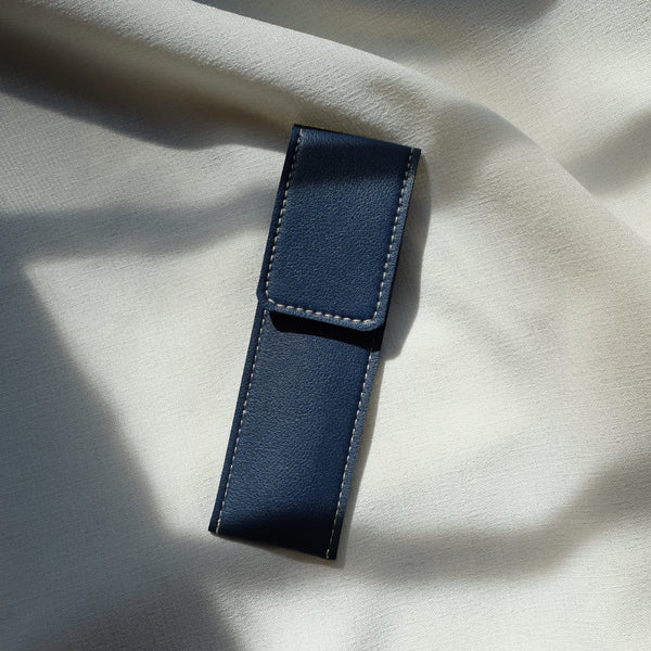 Slim Pen Case in Midnight