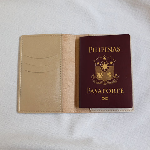Passport Holder in Gold