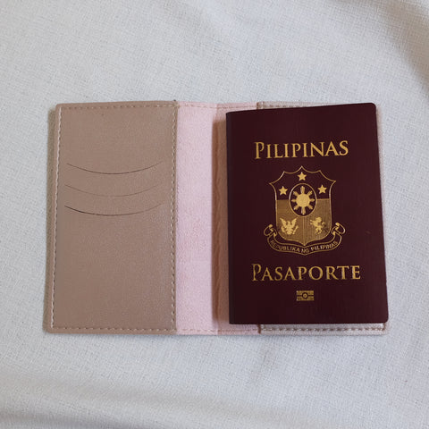 Passport Holder in Rose Gold