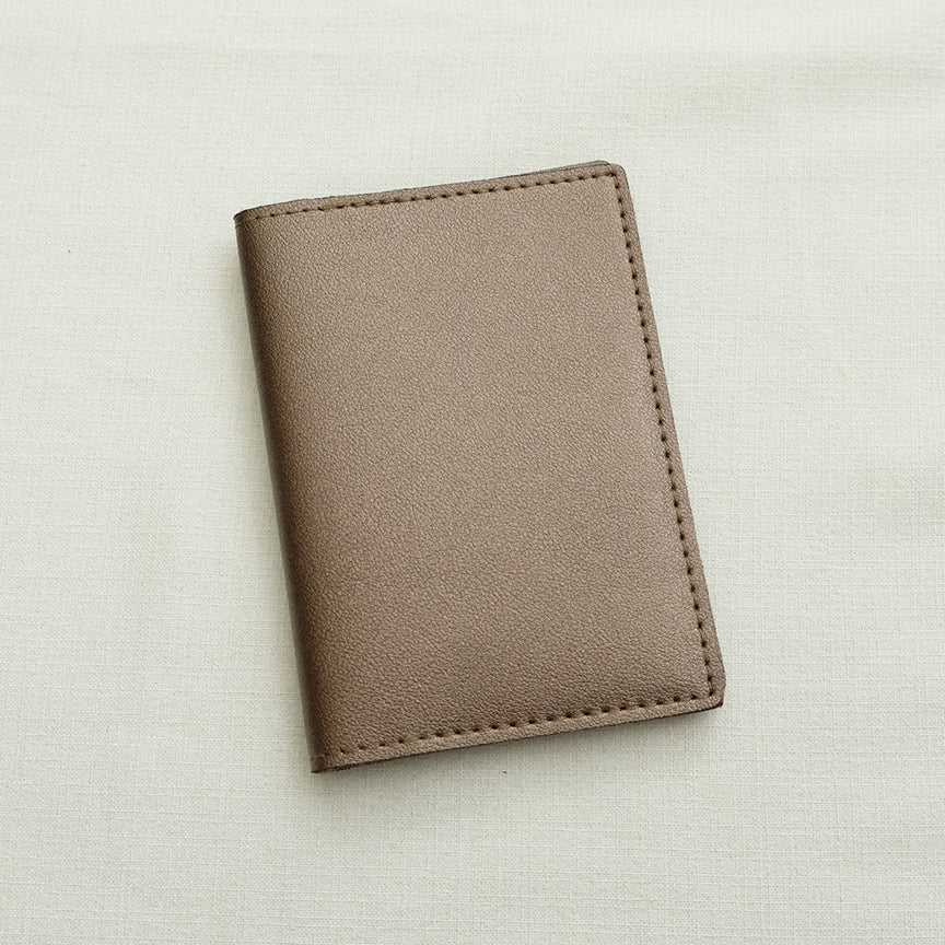 Passport Holder in Bronze