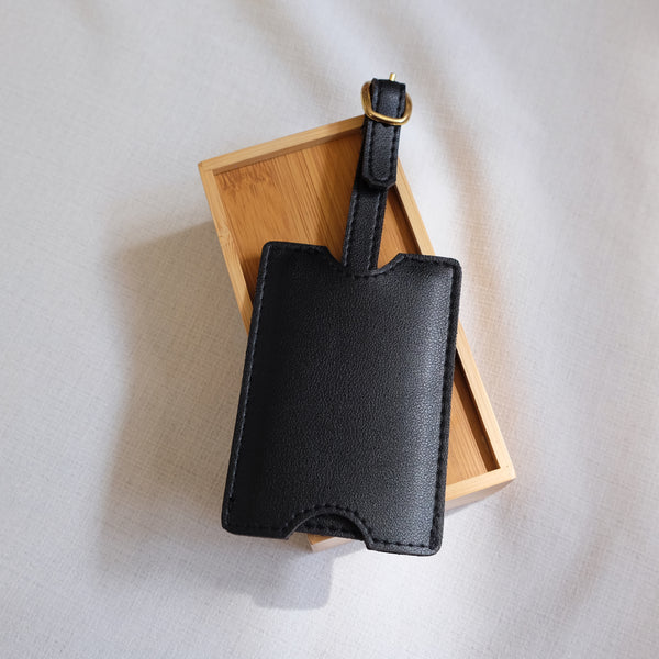 Premium Luggage Tag in Black