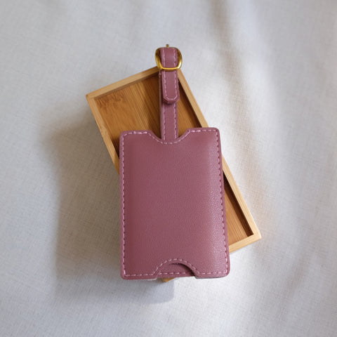 Premium Luggage Tag in Old Rose