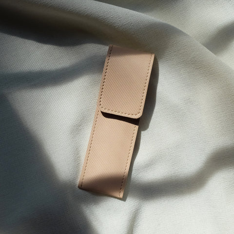 Slim Pen Case in Peach