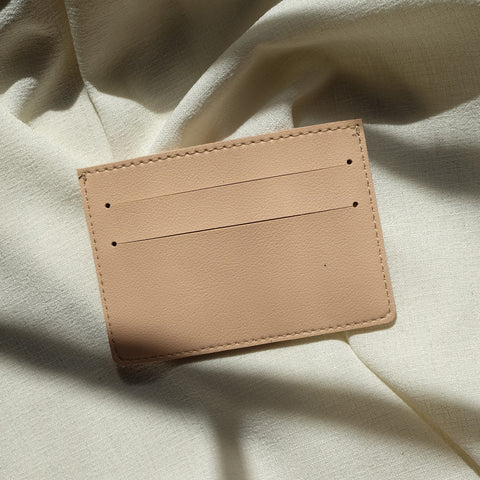 Card Holder in Peach