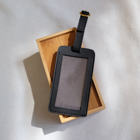 Standard Luggage Tag in Black