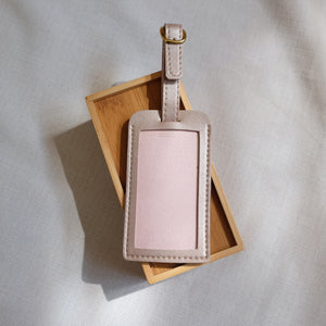 Standard Luggage Tag in Rose Gold