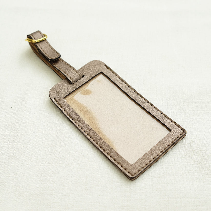 Standard Luggage Tag in Bronze