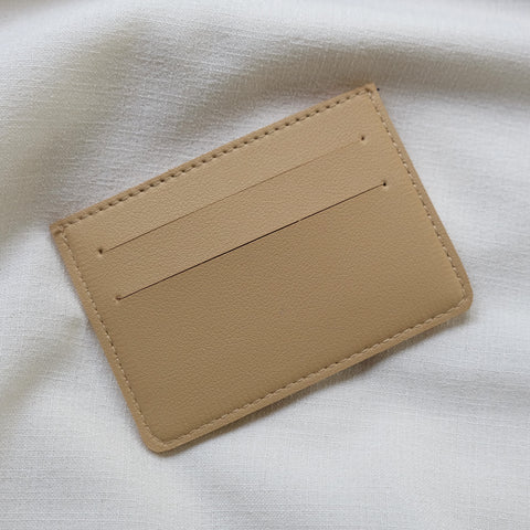 Card Holder in Sand