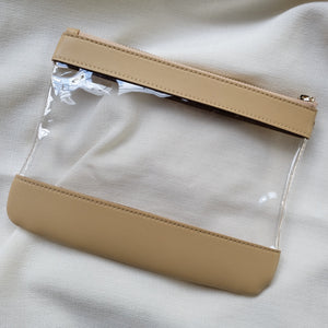 Clarity Pouch in Sand