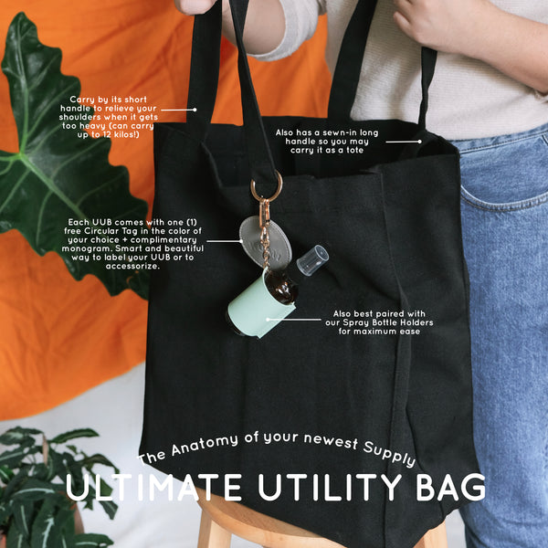 Ultimate Utility Bag in Black