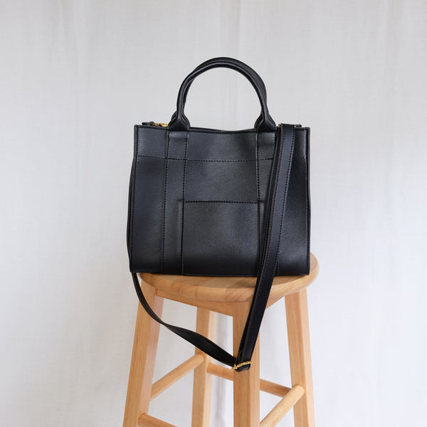Birthday Exclusive: Yuna Box Sling in Black