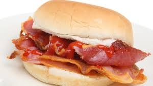 Bacon Roll Platter