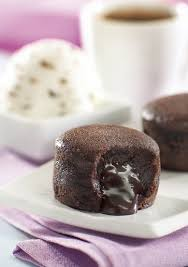 Mini Chocolate Fondant Platter