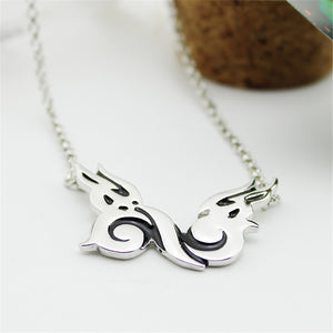 Infinite Inspirit Wings Logo Necklace