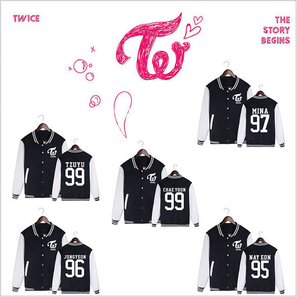 TWICE Letterman Jacket