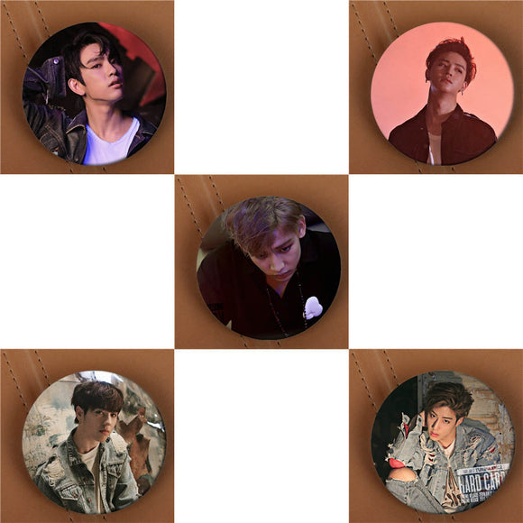 GOT7 Hard Carry Button Pin