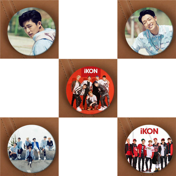 iKON Warm Up Button Pin