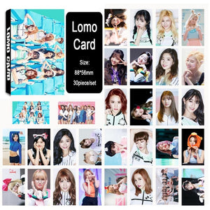TWICE Photo Cards
