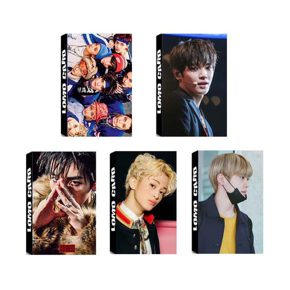 NCT 127 LIMITLESS Lomo Photo Cards