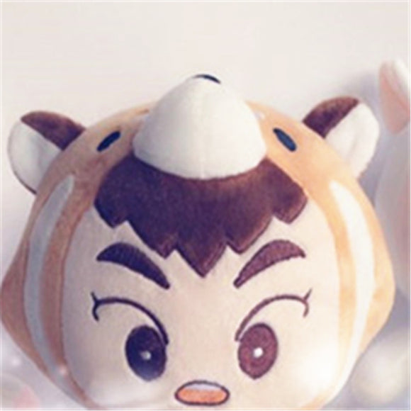 EXO Xiumin Raccoon Plush Doll