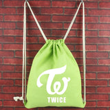 Twice Drawstring Bag
