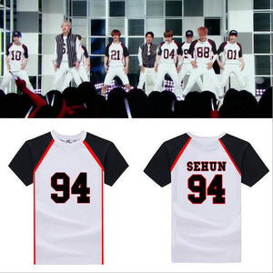 EXO Love Me Right Jersey T-shirt