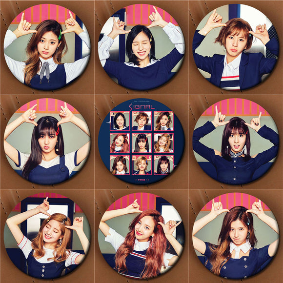 TWICE SIGNAL Button Pin