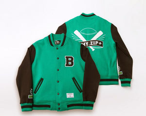 BTS ARMY ZIP+ Letterman Jacket