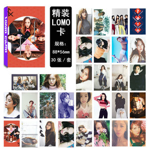 f(x) Red Light LOMO Photo Cards