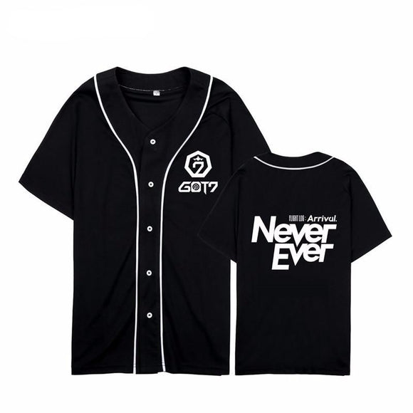 GOT7 Never Ever Baseball Jersey