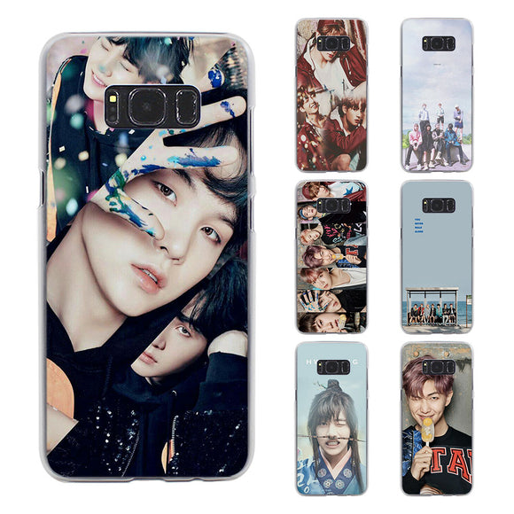 BTS Transparent Samsung Phone Case