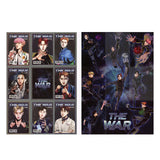 EXO The War Cartoon 9 Piece Photo Cards