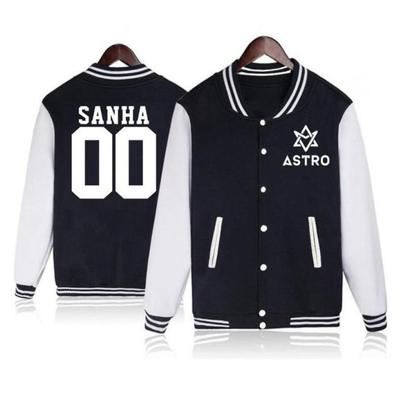 ASTRO Letterman Knit Jacket